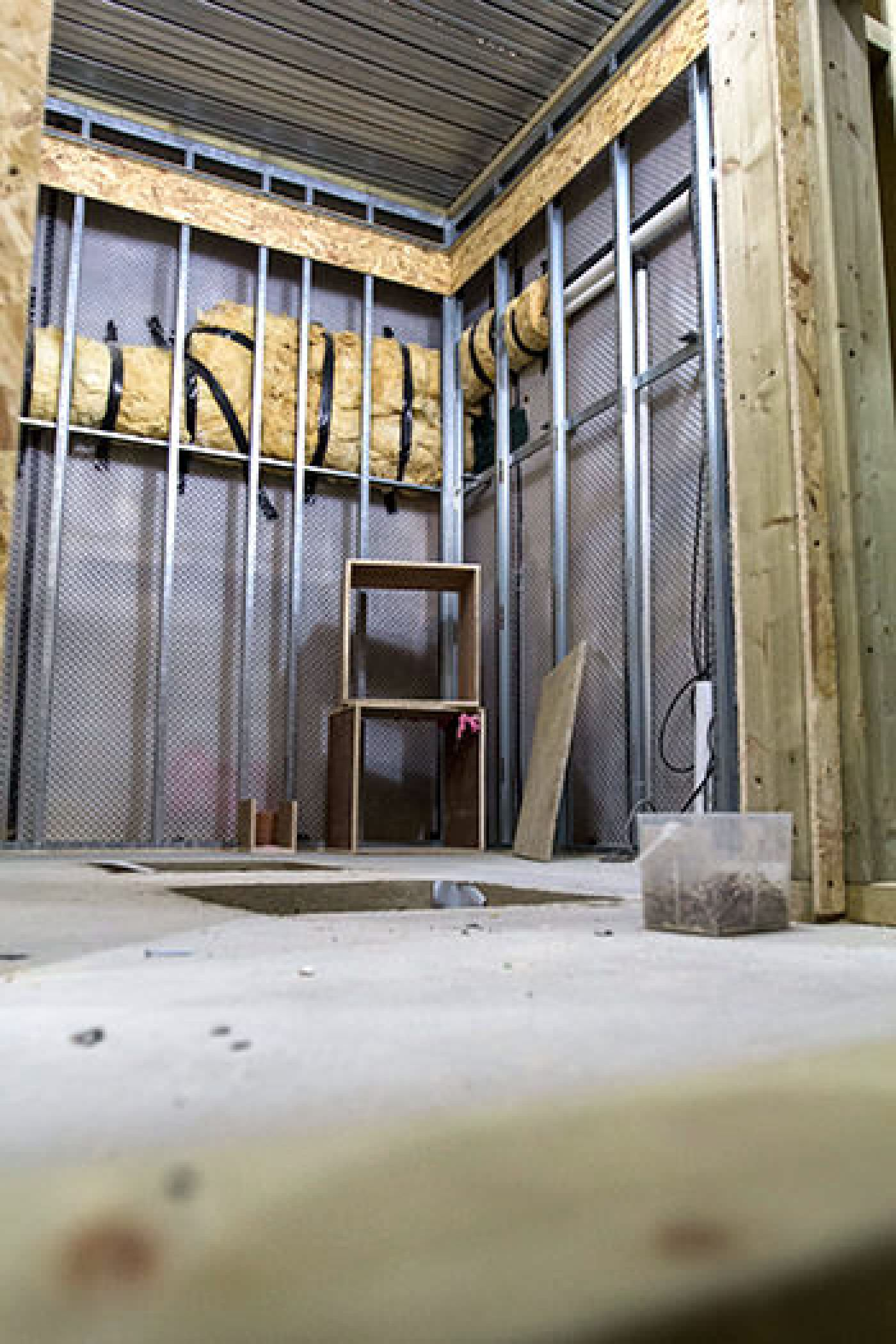 Structural Waterproofing  Cellar Conversion