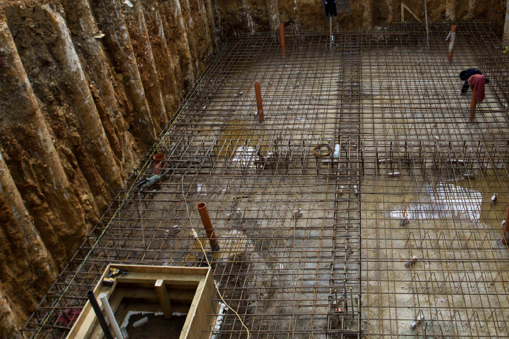 Basement new build for Best basement construction