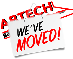 Abtech Basement we have moved logo